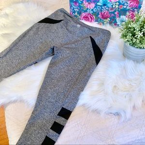 Heather Side Mesh Athletic Leggings | Forever 21